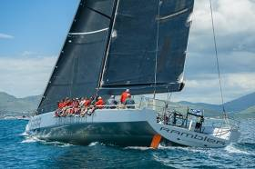 George David's mighty Rambler 88 will be racing for Round Ireland honours next month