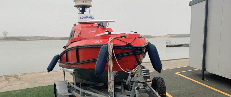 Ports Group in UK Successfully Completes First Trial of Autonomous Unmanned Survey Vessel