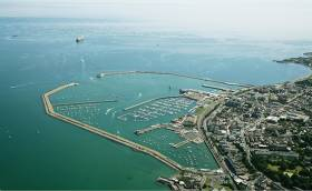 Dun Laoghaire Harbour – Local Councillors have inserted a provision in the new county development plan to limit the size of vessels that can enter the harbour to 250m