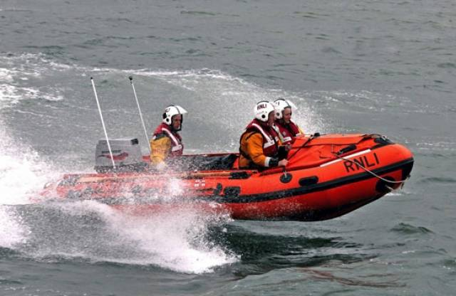Fethard RNLI's D-class inshore lifeboat