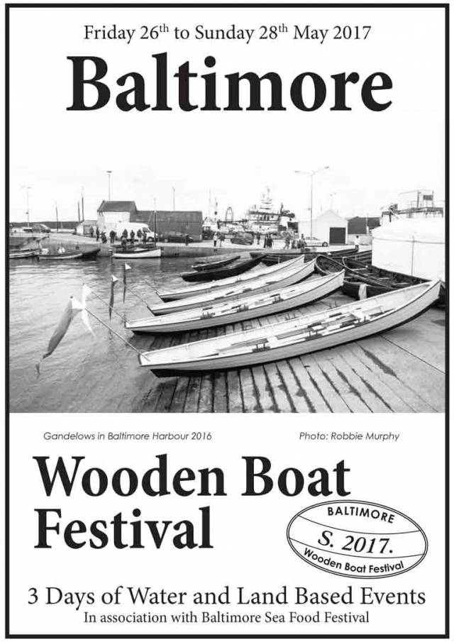 A traditional boat festival deserves a traditional programme. Forget about fancy modern, glossy and over-designed minimalist brochures. This retro-style fact-filled programme for the weekend's Baltimore Woodenboat Festival is entirely appropriate. Scroll down for the full programme below