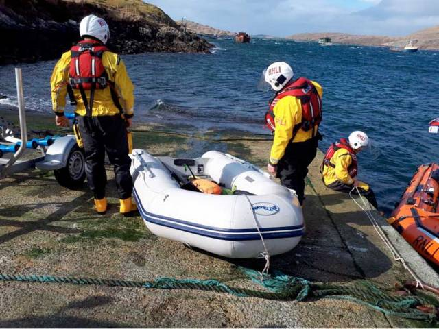 Clifden Lifeboat Rescues Missing Spear Divers On St Patrick's Day Callout