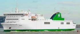 Technical problems of Irish Ferries Epsilon (chartered in) ropax have also forced cancellation of this weekend's Dublin-Cherbourg round-trip sailings