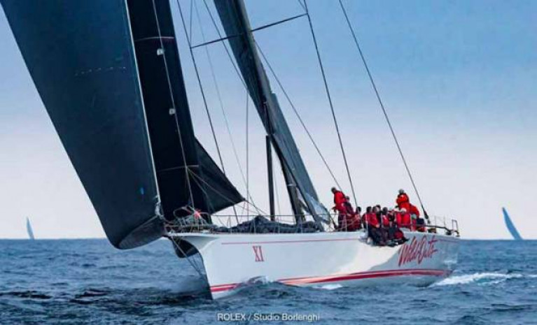 Wild Oats XI took line honours in the 2018 Rolex Sydney Hobart Yacht Race