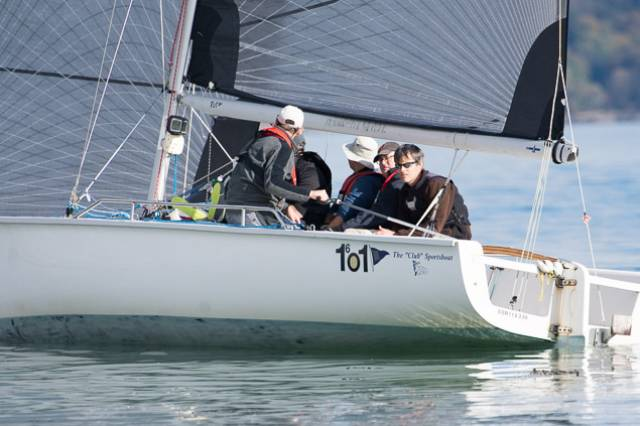 Peter O'Leary and crew search for wind in a 1720. Scroll down the story for more photos
