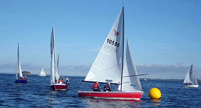 A view from the 2013 Wayfarer Nationals at East Down Yacht Club