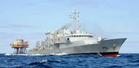The operation is being coordinated by the Marine Rescue Coordination Centre in Valentia and is being supported by the Naval ship LÉ Róisín