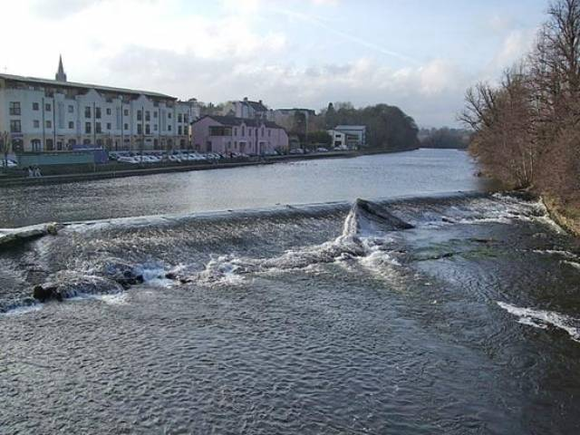 Fermoy Weir on the Munster Blackwater