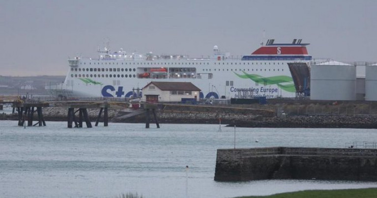 Stena Line has cancelled several Irish Sea sailings again this weekend as the post-Brexit trade slump continues at Holyhead (above) while in south Wales, the Fishguard night time sailing has been pulled until at least Monday, January 25.