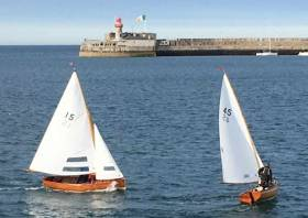 The Water Wag season Started in Dun Laoghaire Harbour with a bang last Wednesday