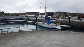 Neil Prendiville's Mary P at Cape Clear Marina, the new facility is an added location on the West Cork coastline