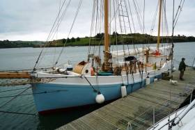 Ilen in Kinsale this week