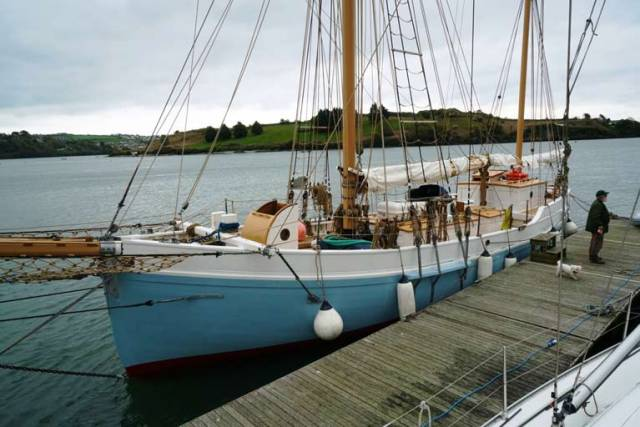 Historic Ketch Ilen Heading for Official Launch in Dun Laoghaire to Create Pride in Preserving Maritime History