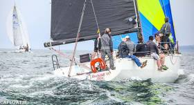 Viking Marine Boss Ian O'Meara is onboard Rockabill VI skippered by Paul O'Higgins for the first race of the season this Saturday