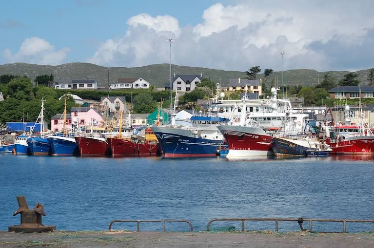 Castletownbere in West Cork