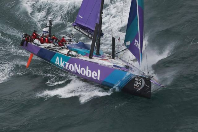 Stormy waters for Team AkzoNobel as they scramble to find a new skipper just days from the start of Leg 1