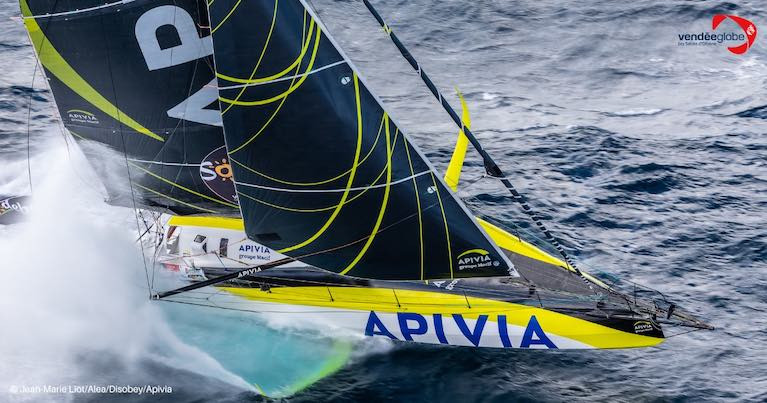 Dalin's latest generation Verdier design with its big foil should be fastest and the 37 year old who grew up in Le Havre, France is the line honours favourite.