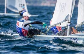 Laser sailor Finn Lynch is one of Ireland's high performance prospects and still battling for a Tokyo 2020 berth