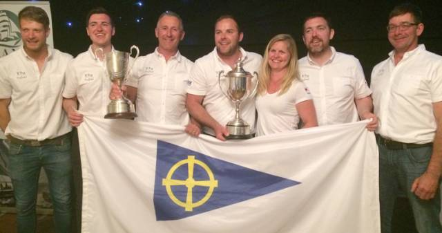 Liam Burke's Farr 31 Tribal crew are 2017 WIORA champions with five straight wins