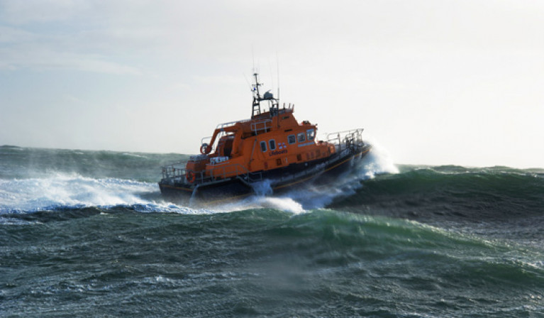 File image of Rosslare Harbour RNLI's all-weather lifeboat