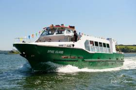 The new Spike Island ferry operated by Doyle Shipping