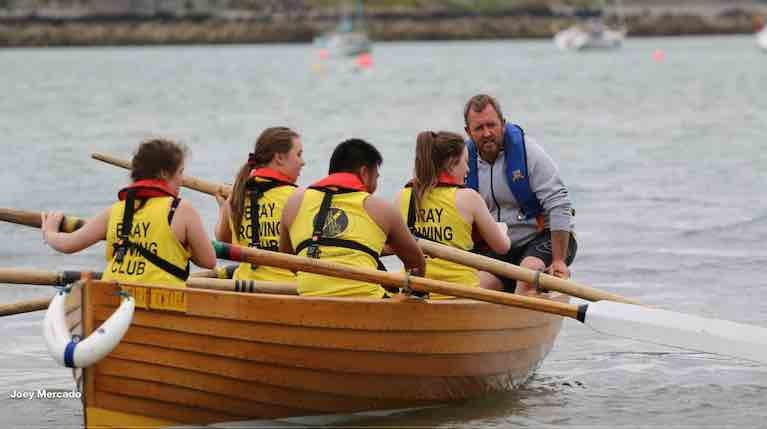 A new coastal rowing challenge aims to raise funds for a new safety boat