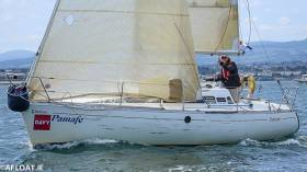 The First 285 Pamafe (Gerald Costello of the RIYC) was the DBSC Cruiser 3 Tuesday Echo race winner