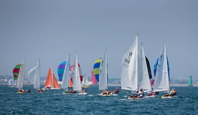 The IDRA 14 dinghy class celebrates its 70th birthday this season