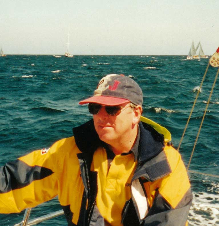"Ian Byrne of Howth is ""Sailor of the Month"" for May"