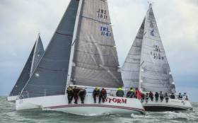Pat Kelly's Storm was crowned J109 Champion at the  RIYC today. Scroll down for more photos below