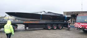 The Aluminium ALLBLACK SL44 will be testing in Cork Harbour