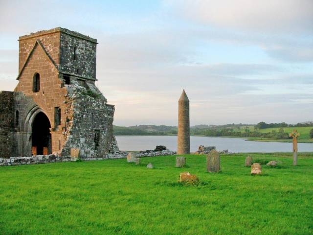The incident occurred by a jetty at Devenish Island on Lough Erne, near Enniskillen