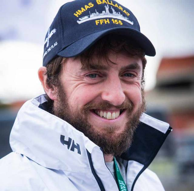 Greg McGuckin's Selfless Heroism Wins September Sailor of the Month Special Award