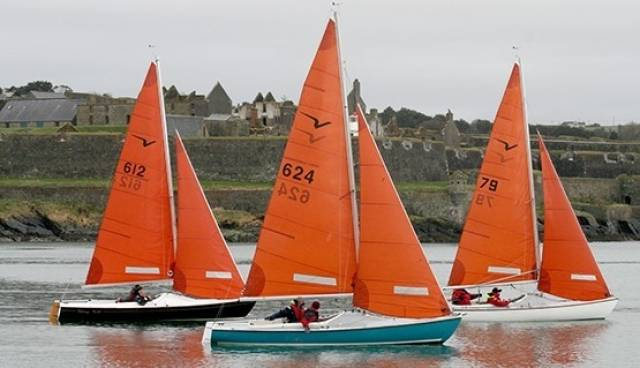 Squib racing at Kinsale