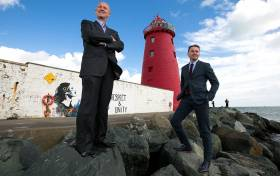 Eamonn O Reilly, CEO, Dublin Port Company and Andrew Hetherington, CEO, Business to Arts launch 'Port Perspectives', a landmark art commissioning series to create new public artworks in the Dublin Port area. Open Call to National and International Artists