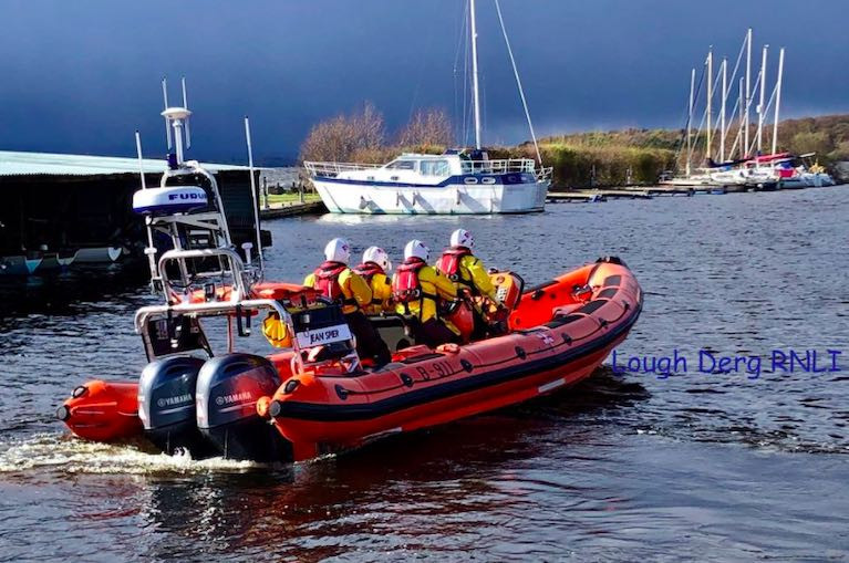 Lough Derg RNLI Feature on BBC TV Series 'Saving Lives at Sea'