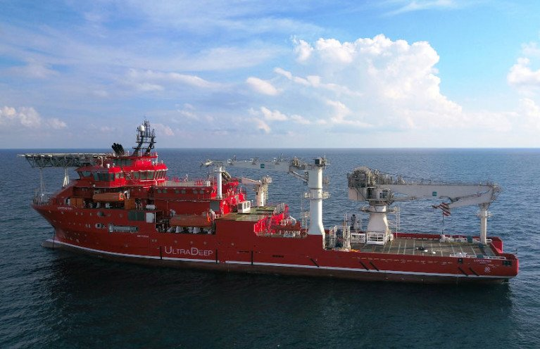 Works will be carried out from the dive support vessel MV Lichtenstein