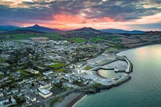 Dreamworld. The fabulous location of Greystones and its marina needs an aerial view to be fully appreciated