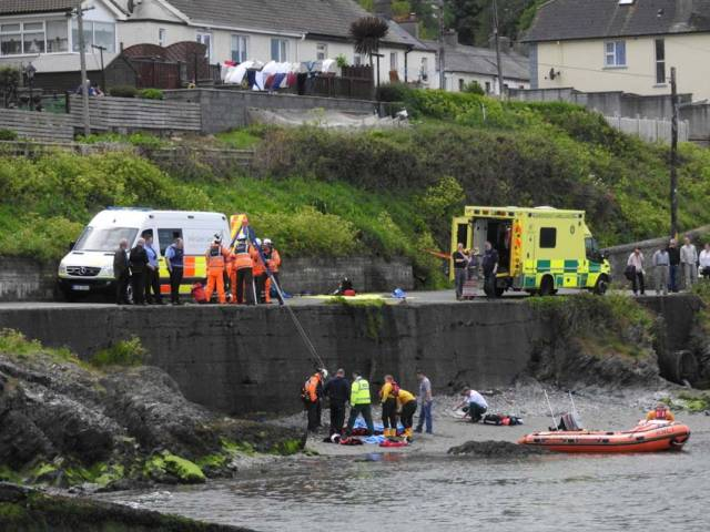 Wicklow Lifeboat In Multi-Agency Rescue Of Cyclist After Quayside Fall
