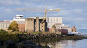 "The Scottish government has said it is ""ready and willing"" to take Ferguson shipyard into public ownership. The facility AFLOAT adds is the last commercial civilian shipyard left on the Clyde where a pair of newbuild dual-fuel ferries according to the government are to be completed for CalMac's west coast services including the Isle of Arran."