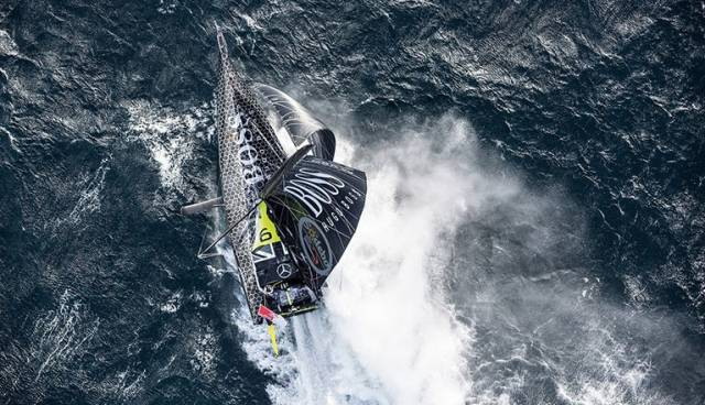 Alex Thomson who has pulled back 85 crucial miles