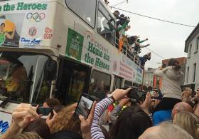 Home are the Heroes – Paul & Gary O'Donovan return to Skibbereen. video clip below