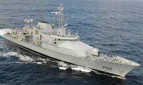 The fishing boat was detained by LÉ Niamh south west of the Fastnet Rock on Wednesday