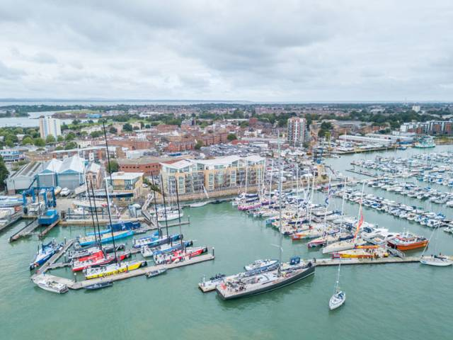 Clipper Race and Volvo Ocean Race Fleets Take Over Portsmouth Harbour