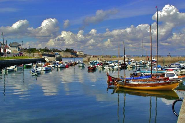 Bulloch Harbour in Dalkey, Co Dublin
