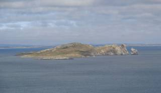 Ireland's Eye just off Howth in North Co Dublin