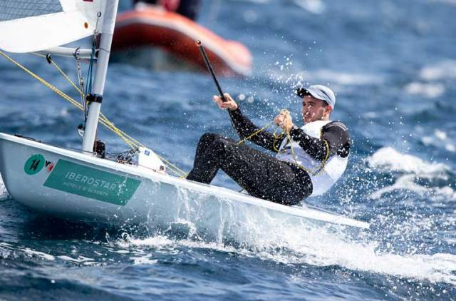 Ireland's Finn Lynch has finished fourth overall at the Princess Sofia Trophy in Palma today.