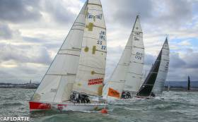 There are significant changes to the start sequences for the second race of the Turkey Shoot Series on Dublin Bay
