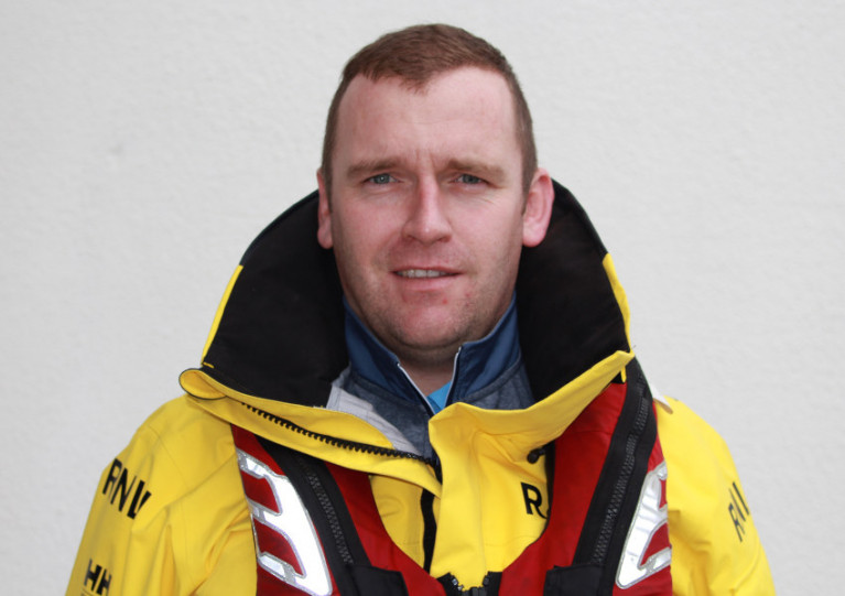 Paul Sheehan has been a dedicated volunteer crew with Dunmore East RNLI for 14 years