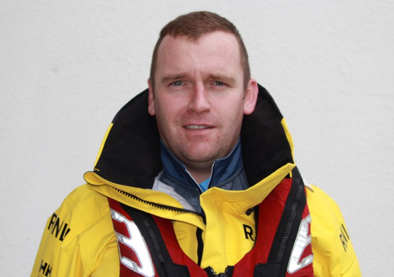 Dunmore East Lifeboat Volunteer Receives Community Volunteer Award